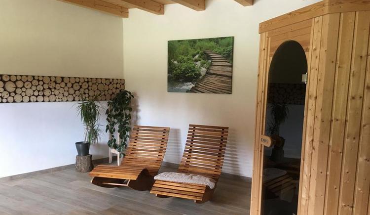 Sauna (© Familie Spiegl - Big-Sky-Ranch)