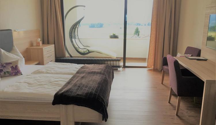 Doppelzimmer bei Hotel Blumenhof*** (© Hotel Blumenhof)