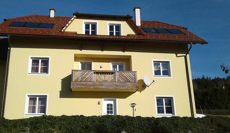 Vorderansicht Haus (© Privat)