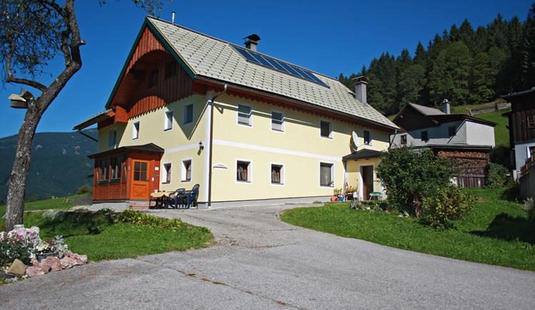 Die Außenaufnahme des Hauses.. (© Margit Gamsjäger)