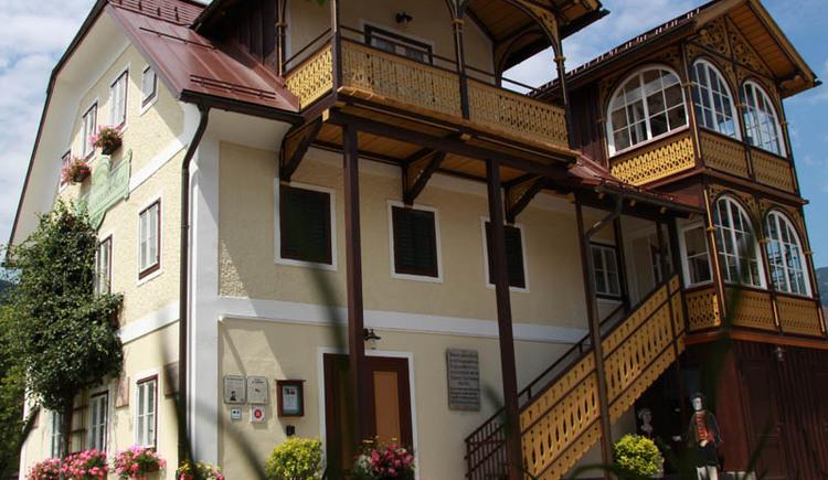 Das Heimat- und Landlermuseum in Bad Goisern, nach der Generalsanierung 2014.