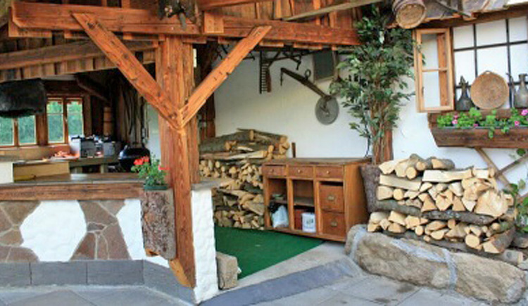 Außenbereich Restaurant Seidlgart'l