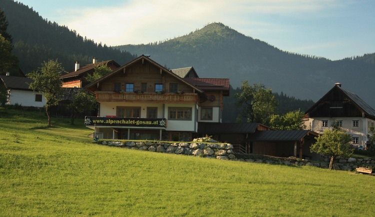 The recently built holiday home is located directly at the Hornspitzlift.