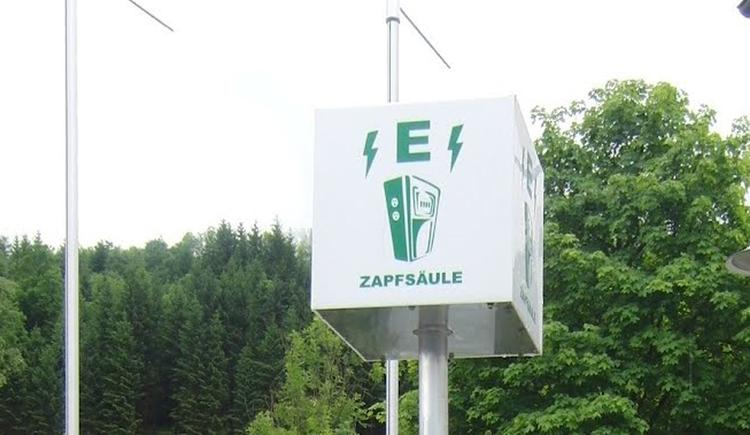 Stromtankstelle (© Energieautarke Region Pyhrn-Priel)