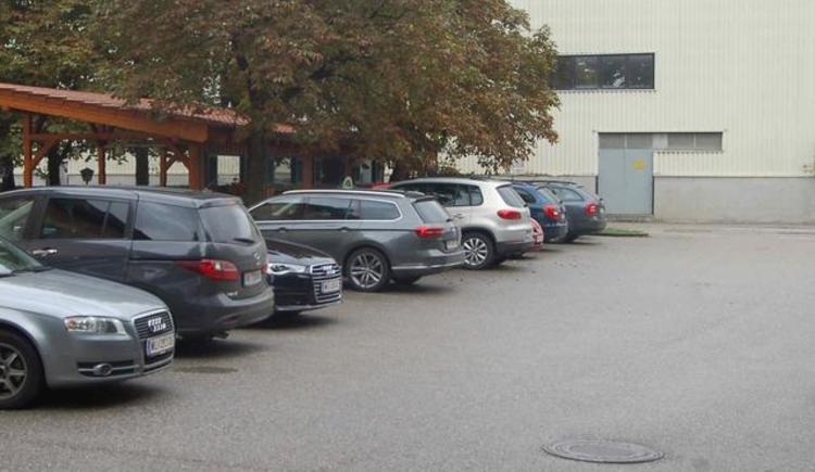 Hauseigener Parkplatz