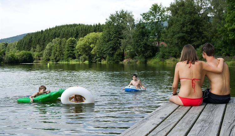 Badesee (© Oö Tourismus Weissenbrunner)