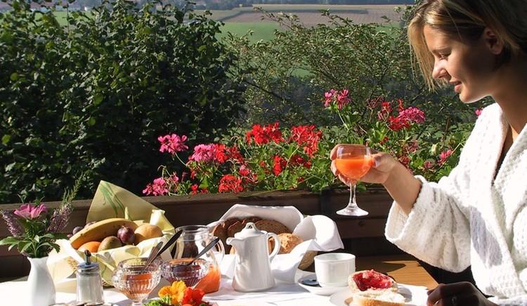 Frühstück im Golf- und Landhotel Anetseder (© Anetseder)