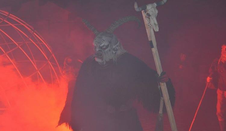 Krampus at the town square