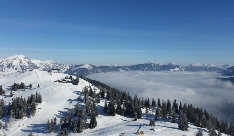 Blick über die Skiregion. (© Wenko)
