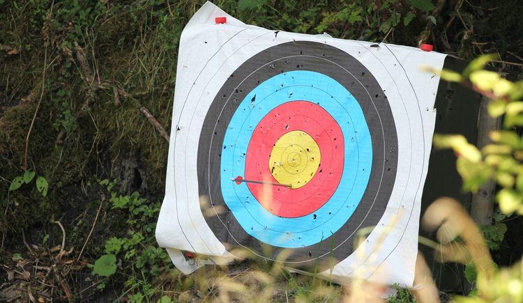 Zielscheibe im Hausruckpark Ampflwang. (© Hausruckpark Ampflwang)