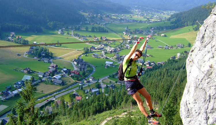 Via ferrata. (© Hotel Gasthof Gosauschmied)