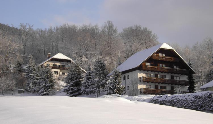 Haus Bianca im Winter. (© Tristan Forisch)