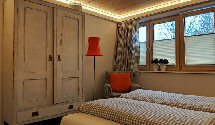 Wohnung Bachrauschen - Schlafen 1 (© dasGams)