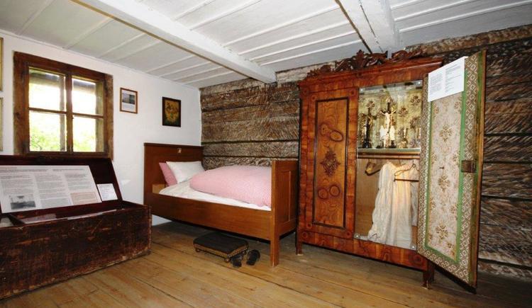 Schlafkammer 1 (© Georg Nussbaumer)