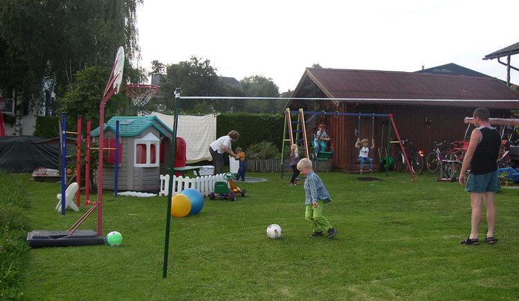 Spielplatz. (© Pension Regenbogen)