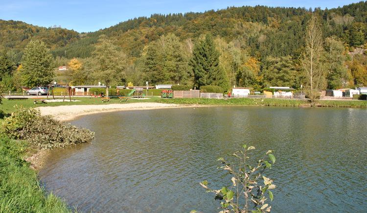 Badesee in Kasten (© Gemeinde Vichtenstein)