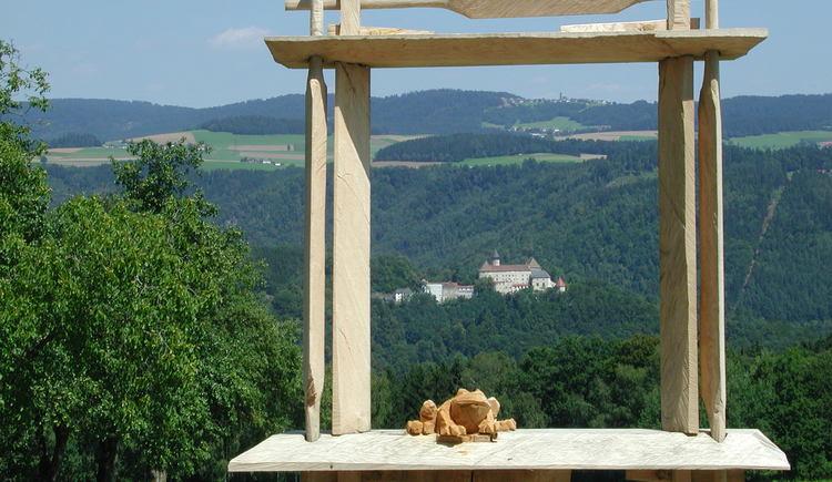 Burgblick. (© Gemeinde St. Aegidi)
