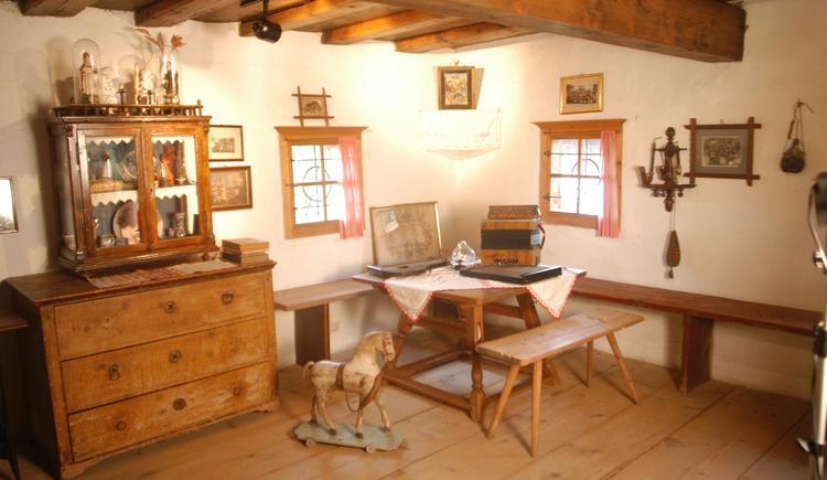 Bauernstube im  Heimatmuseum 'Lipphaus'  in Strobl