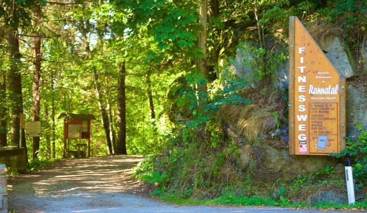 Eingang Fitnessweg Rannatal