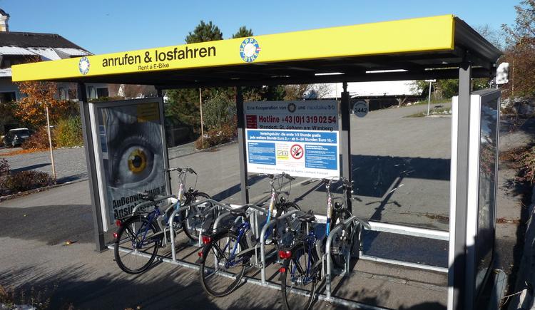 E-Bike-Station (© Gemeindeamt St. Johann am Wimberg)