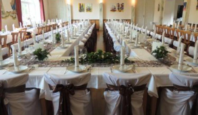 Gasthaus Roitinger Saal für Hochzeiten etc.