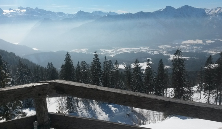view to the Dachstein