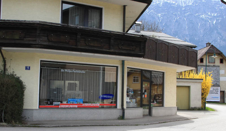 Specialist shop for electrical equipment, TV and repairs in the center of Bad Goisern
