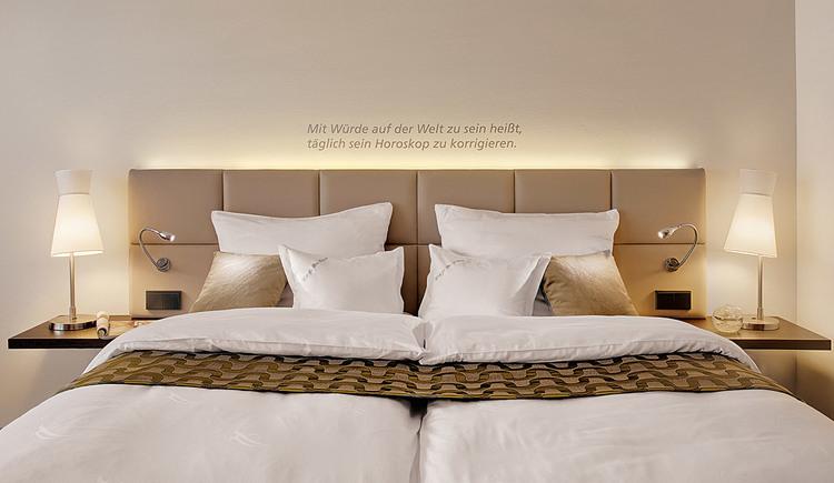 Doppelzimmer im Hotel Kremstalerhof