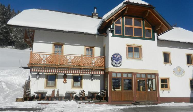 Gasthof Moosgierler im Winter