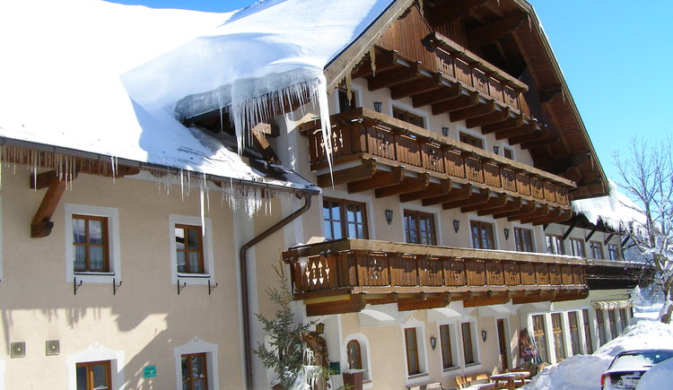 Hotel Alte Post in winter (© Hotel Alte Post Faistenau)