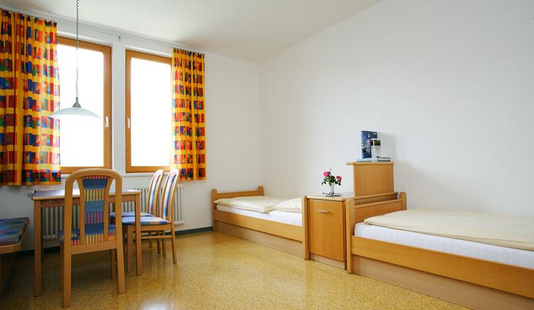 Landes-Jugedhaus Losenstein, Zimmer. (© Land Oberösterreich)