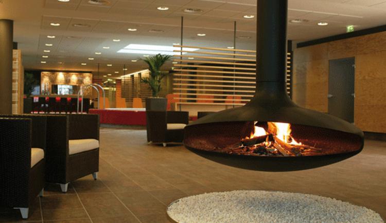 Feuerschale Saunaoase (© Hotel Lebensquell Bad Zell)