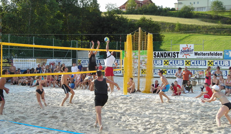 Freibad - Beachvolleyballanlage Weitersfelden