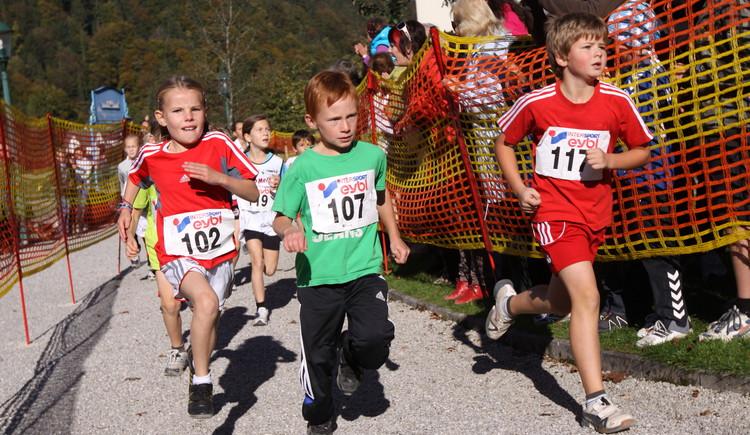 Der Kinderlauf in Strobl (© Hörmandinger)