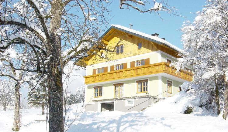 Die Ferienwohnung Lauer befindet sich etwas außerhalb von Bad Goisern in der Ortschaft Untersee sehr ruhig gelegen