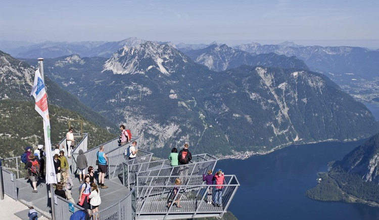 view of the sight. (© Dachstein Salzkammergut | Leo Himsl)