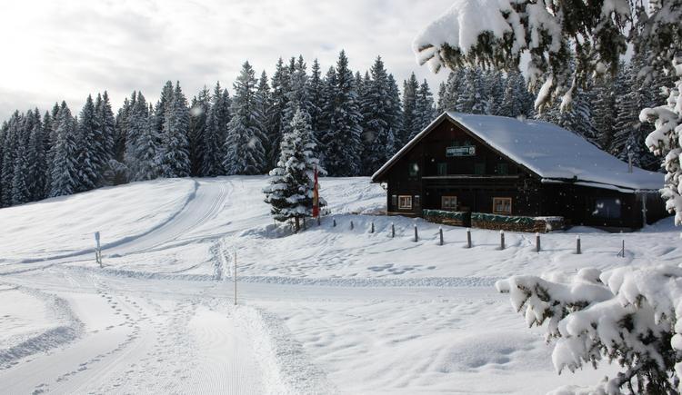 Huber Hütte im WInter
