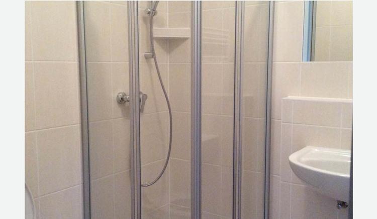 Shower, sink