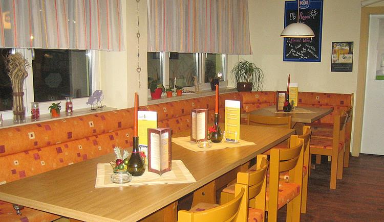 Gaststube im Restaurant Seidlgart'l