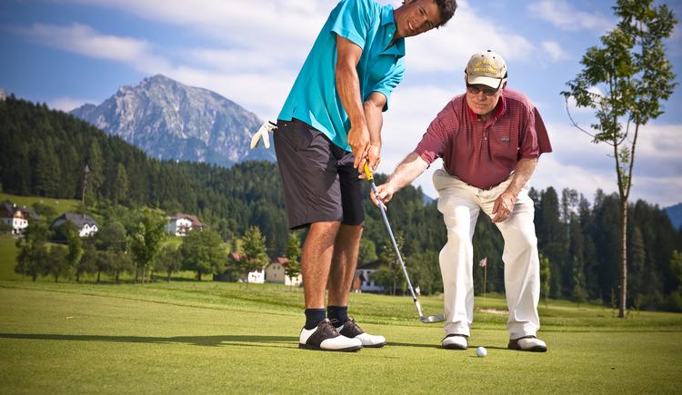 Golfplatz Windischgarsten Pyhrn-Priel. (© TVB Pyhrn-Priel / Erber)