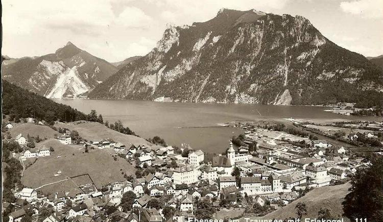 Ebensee um 1900 (© Haus SONNSTEIN zu EBENSEE am Traunsee)