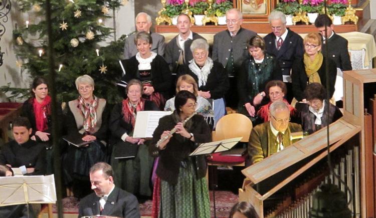 Adventsingen in der Pfarrkirche