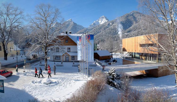 Hösshalle Hinterstoder (© Gemeinde Hinterstoder)