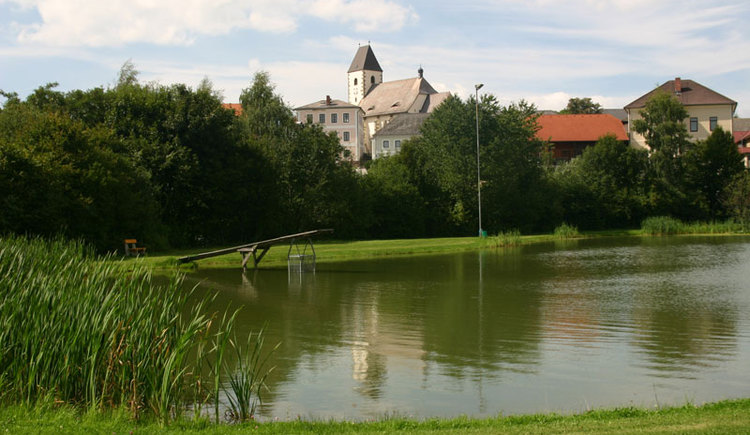 Freiwaldbadeteich Grünbach (© Touristik Mühlviertler Kernland)