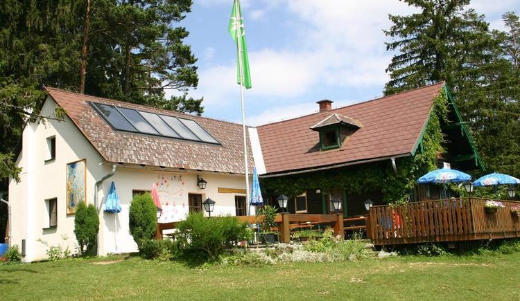 Braunberghütte im Sommer (© Braunberghütte Alpenverein)