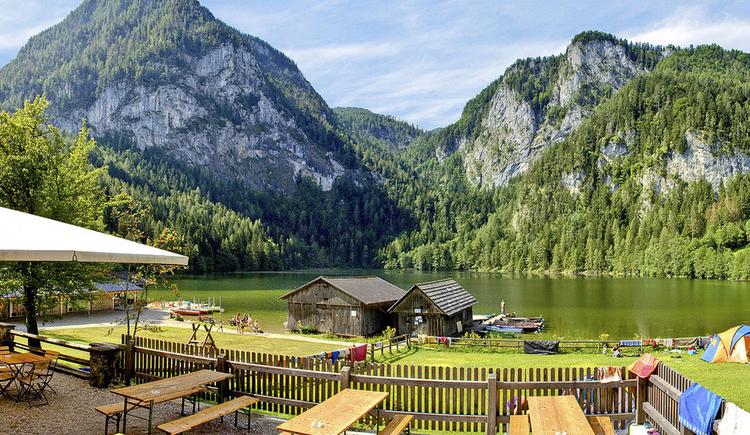 Hochseilgarten Gleinkersee, Hängebrücken, Flying Fox, Schwebebalken für Kinder, Familien, Tagesausflug und Betriebsausflug.