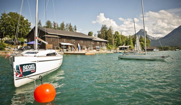 Sportcamp Raudaschl Bootshaus. (© Sportcamp Raudaschl Mirja Geh)