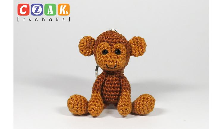 gehäkelter Affe