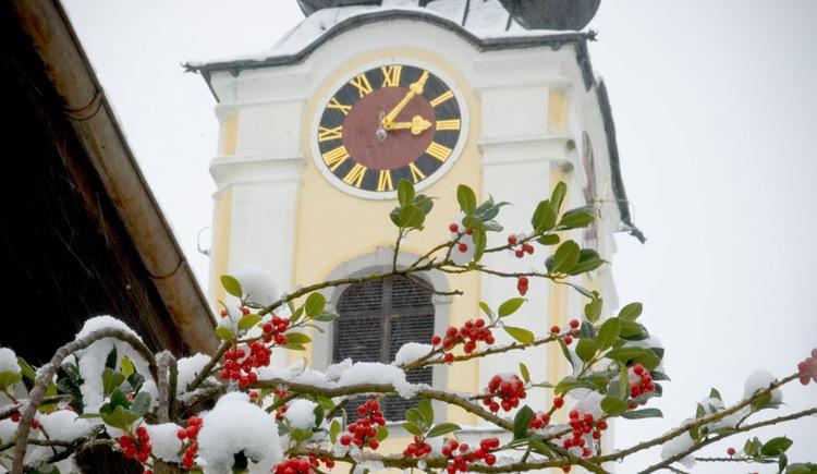 Kirche Unterach am Attersee (© Erich Unteregelsbacher)