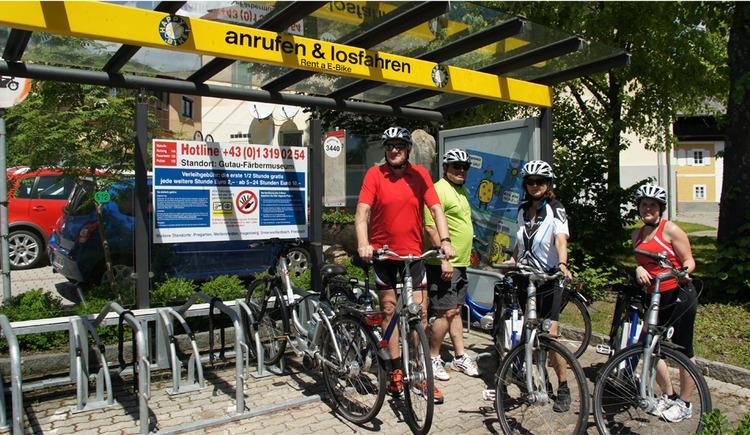 E-Bike Verleihstation (© TVB Kernland)